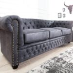 Chesterfield Sofa Grau Sofa Chesterfield Sofa Grau Samt Couch 2 Sitzer Stoff Otto Graue 3 Seater Antique Gray From Casa Padrino Living Luxus 3er Ohne Lehne Walter Knoll Türkis Leder