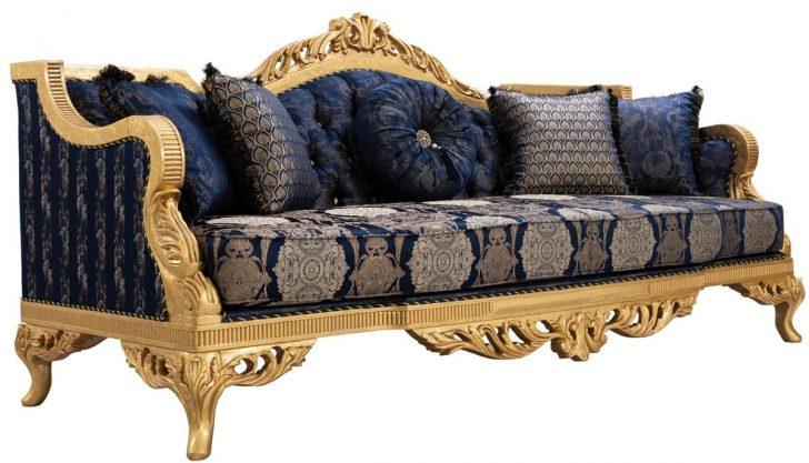 Medium Size of Barock Sofa Casa Padrino Luxus Mit Glitzersteinen Und Dekorativen Konfigurator Brühl Led Relaxfunktion 3 Sitzer Sitzsack Für Esszimmer Günstig Kaufen Sofa Barock Sofa