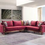 Modernes Sofa Designer Eck Nelli In Rot 285 200 Cm 2 Sitzer U Form Xxl Grau Stoff Günstig Altes Garten Ecksofa Günstiges Türkische Petrol Auf Raten Big Poco Sofa Modernes Sofa