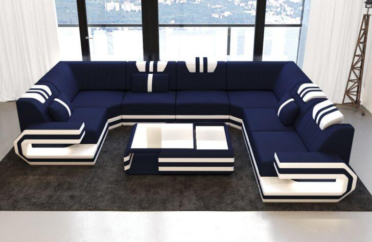 Medium Size of Xxl Sofa U Form Luxus Stoff Wohnlandschaft Ragusa Mit Led Beleuchtung Eckeinstieg Dusche Langes Altes Garnitur 3 Teilig Esstisch Massiv Ausziehbar Modernes Sofa Xxl Sofa U Form