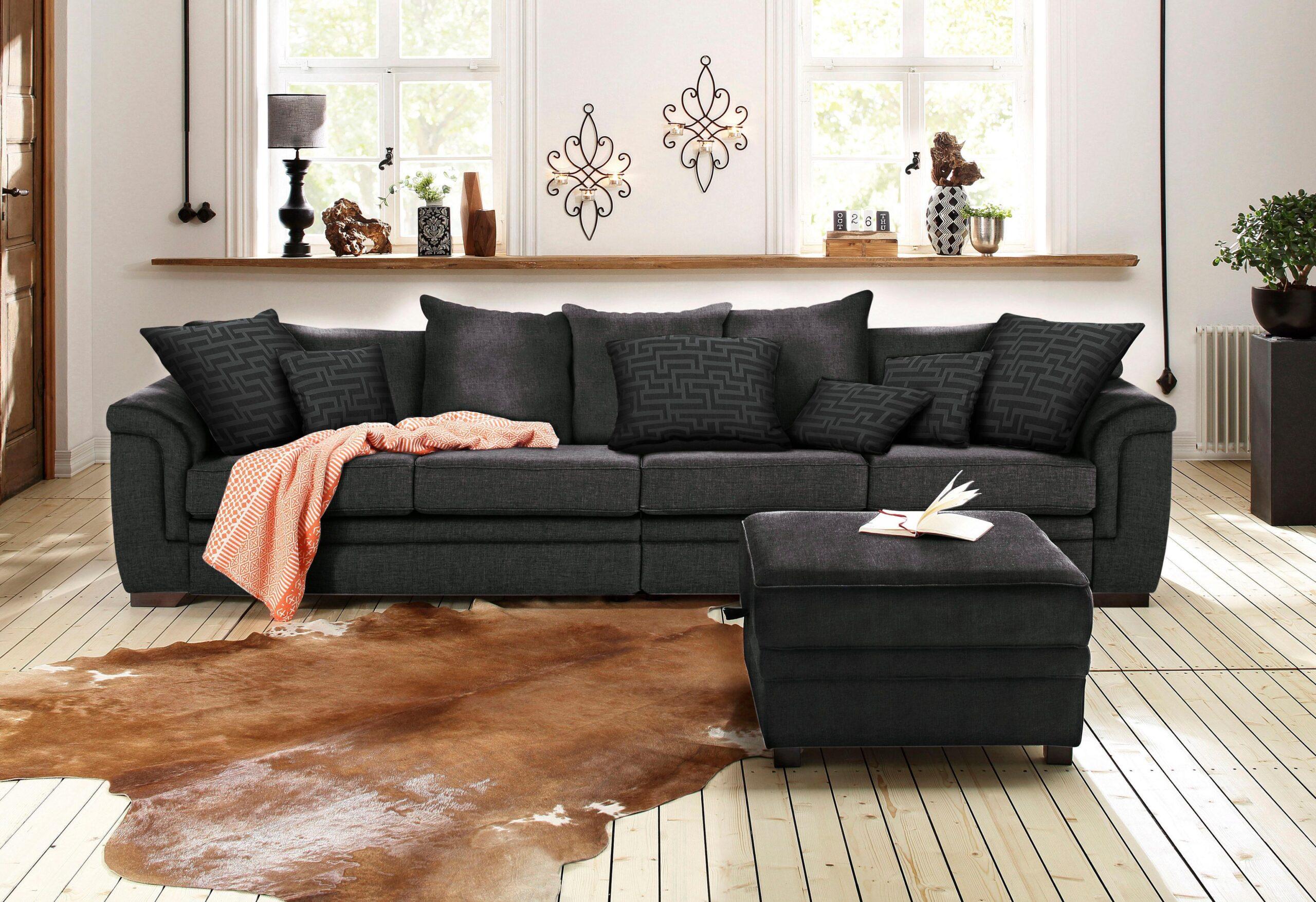 Full Size of Sofa Ausziehbar Angebote Poco Big Schilling 3 Teilig 2er Grau Leinen Reiniger überzug Esszimmer Lila Inhofer Luxus Landhausstil Leder Mit Led Englisch Sofa Home Affaire Big Sofa