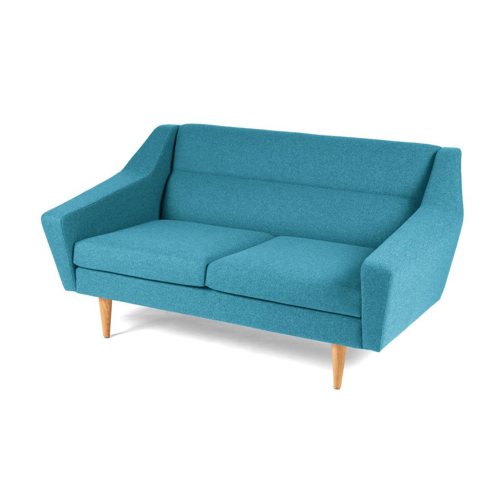 Full Size of 2 Sitzer Sofa Er Cosmo Im Retro Look Blau Schillig 140x200 Bett Rund Konfigurator Betten 160x200 Mit Schlaffunktion Ligne Roset Sitzhöhe 55 Cm 200x200 Sofa 2 Sitzer Sofa
