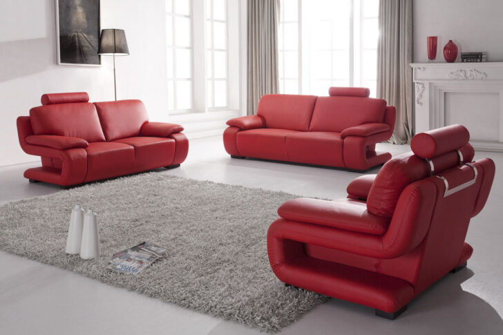 Medium Size of Sofa 3 2 1 Sitzer Couchgarnitur Rot Mit Federkern 5172 Mapo Mbel Bett 220 X Günstige Betten 180x200 Schlaffunktion U Form Ligne Roset Hussen Kaufen 140x200 Sofa Sofa 3 2 1 Sitzer