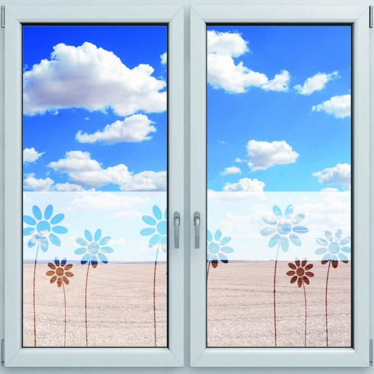 Medium Size of Fenster Sichtschutzfolie Fensterdekor Fr Motiv Blumen 1200 500mm Trier Einbruchschutz Nachrüsten Einbruchsicherung Online Konfigurator Neue Einbauen Fenster Fenster Sichtschutzfolie