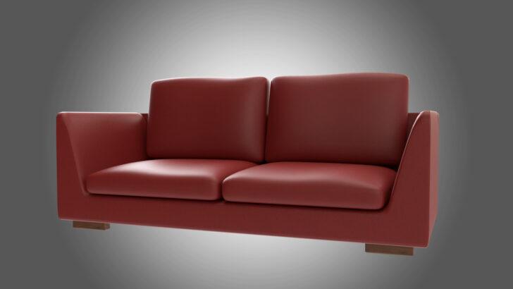 Medium Size of Rotes Sofa 3d Modell Turbosquid 1381005 Rahaus Mit Boxen Garnitur Samt Home Affair Schilling Hocker 2er Zweisitzer Hay Mags Gelb Bezug Leinen Türkische Sofa Rotes Sofa