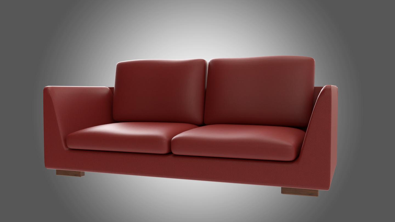 Full Size of Rotes Sofa 3d Modell Turbosquid 1381005 Rahaus Mit Boxen Garnitur Samt Home Affair Schilling Hocker 2er Zweisitzer Hay Mags Gelb Bezug Leinen Türkische Sofa Rotes Sofa