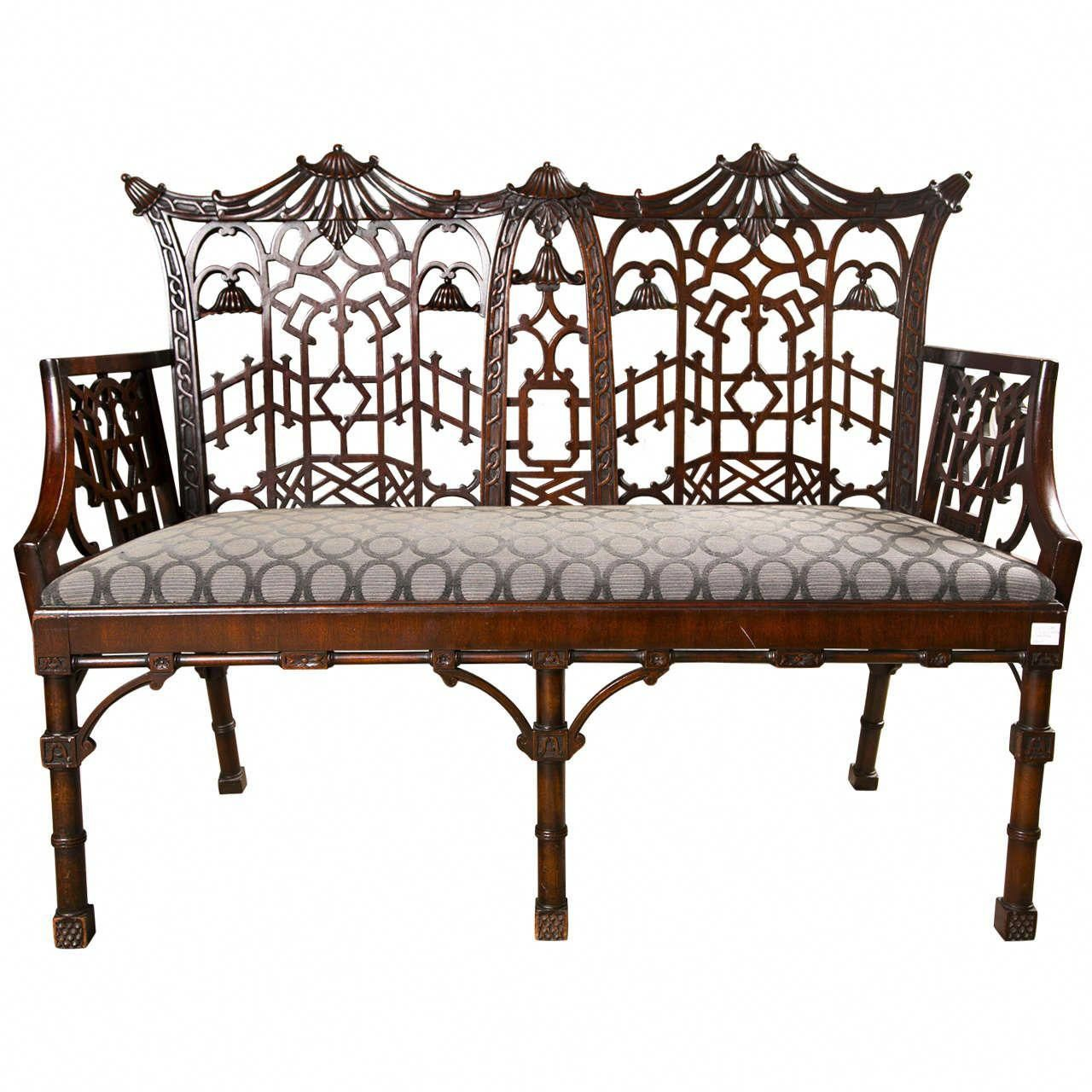 Full Size of Chippendale Sofa Slipcover History Lane Table Reproduction Sofas Ethan Allen Furniture For Sale Uk Style Cover Antique Chinese Settee Canape Kolonialstil Sofa Chippendale Sofa