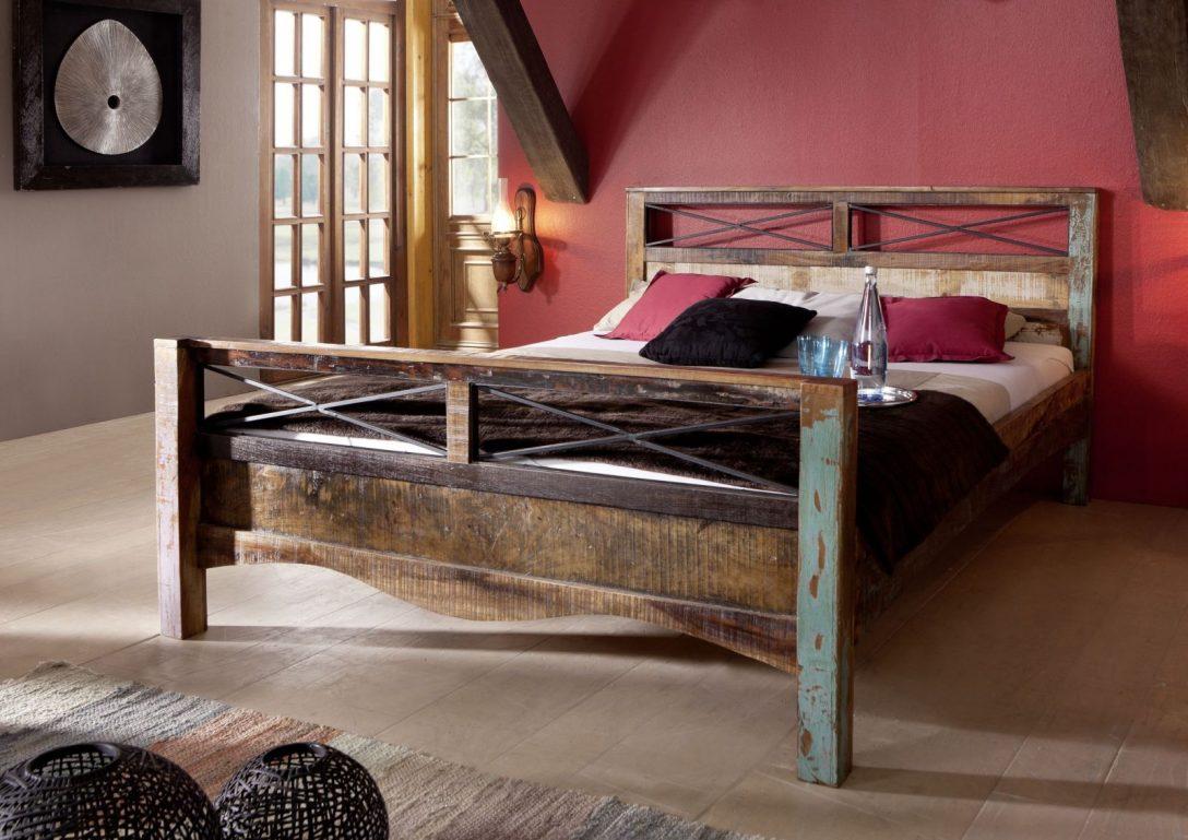 Large Size of Bett Vintage Versandfrei Kaufen Massivmoebel24 180x200 Hülsta Mädchen Betten Weiße Platzsparend 200x220 Ausziehbares Wasser Landhausstil 120x200 200x200 Bett Bett Vintage
