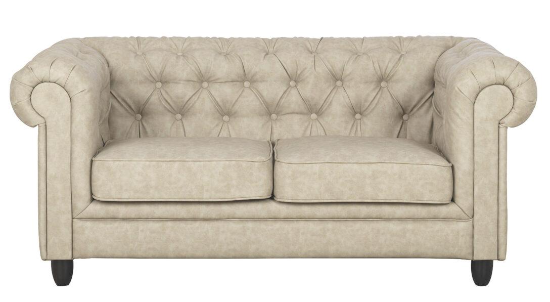 Large Size of Chesterfield Sofa Zweisitzer Lederlook Sandfarben Online Kaufen Gebraucht Mit Bettkasten Riess Ambiente Spannbezug Polyrattan Grau Stoff Großes Günstige Sofa Sofa Zweisitzer