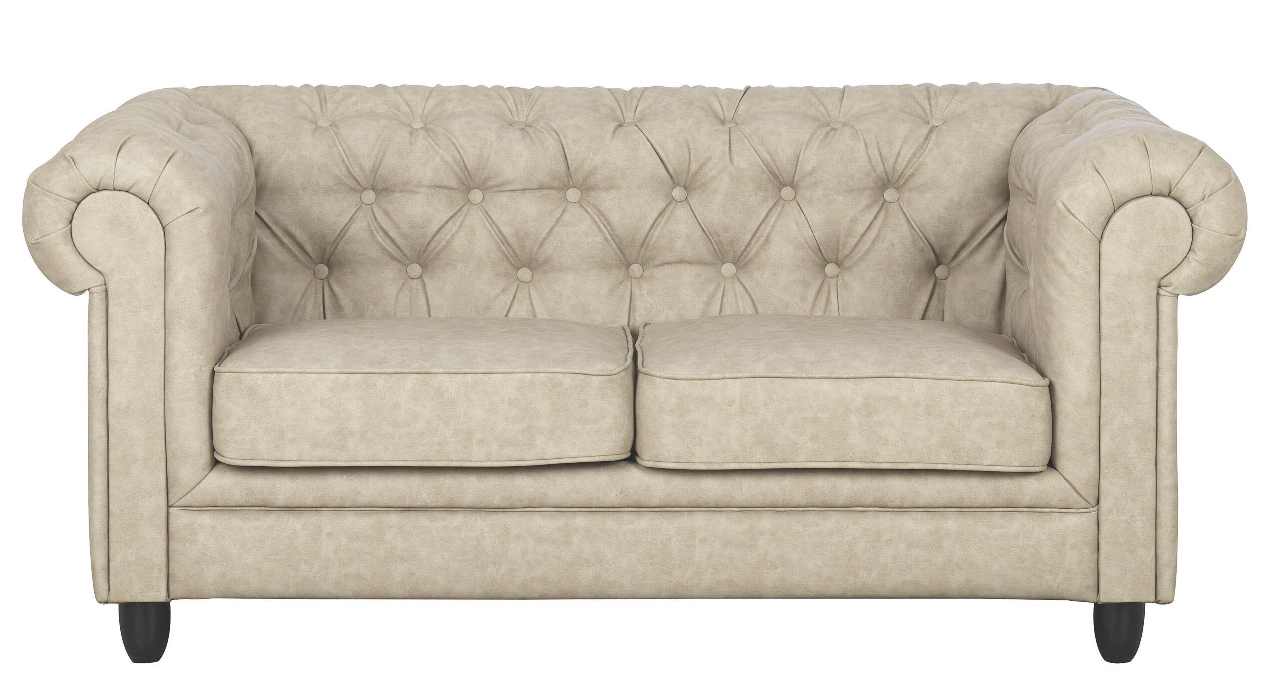 Full Size of Chesterfield Sofa Zweisitzer Lederlook Sandfarben Online Kaufen Gebraucht Mit Bettkasten Riess Ambiente Spannbezug Polyrattan Grau Stoff Großes Günstige Sofa Sofa Zweisitzer