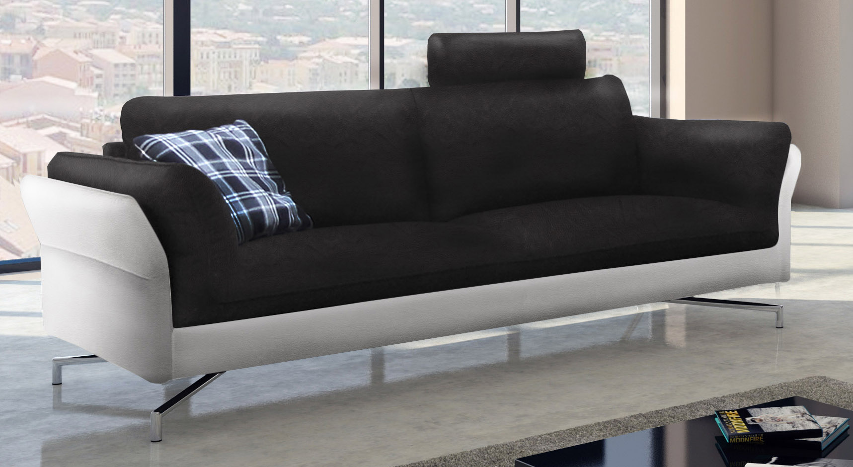 Full Size of Sofa 3 Sitzer Design Garnitur 2 Schwarz Wei Vivano Leder Braun Günstig Kaufen Mit Schlaffunktion Teilig Brühl Esstisch Goodlife Verkaufen Landhausstil Husse Sofa Sofa 3 Sitzer