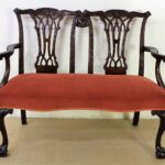 Chippendale Sofa Design Mahogany Settee Bench C1890 La 1119 Patchwork Lila München Mit Schlaffunktion Federkern Big Xxl Grau Relaxfunktion Tom Tailor Sofa Chippendale Sofa