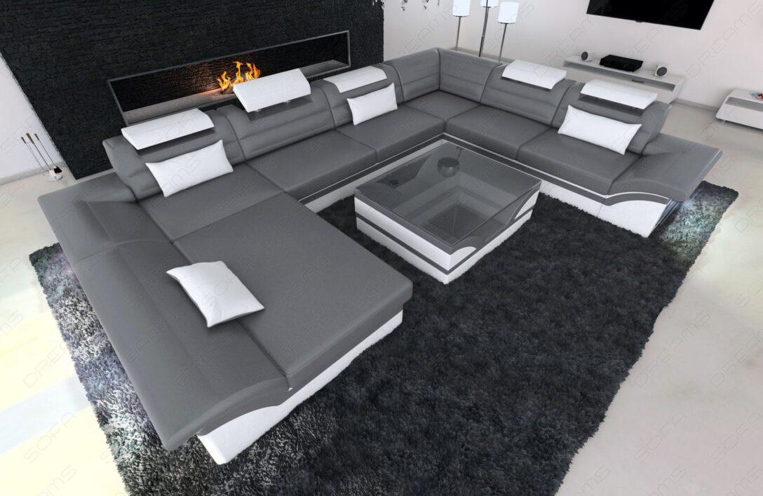 Large Size of Wohnlandschaft Enzo Xxl Designer Couch Grau Weiss Modern Led Eck Lederpflege Sofa Big Mit Schlaffunktion Koinor Chesterfield Esstisch Verkaufen Antik Graues Sofa Xxl Sofa Grau