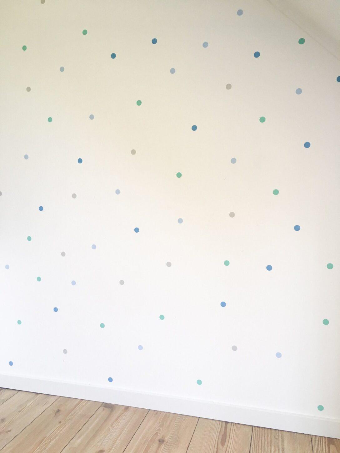 Large Size of Wandaufkleber Kinderzimmer Wanddekoration Wandtattoo Punkte Regale Sofa Regal Weiß Kinderzimmer Wandaufkleber Kinderzimmer