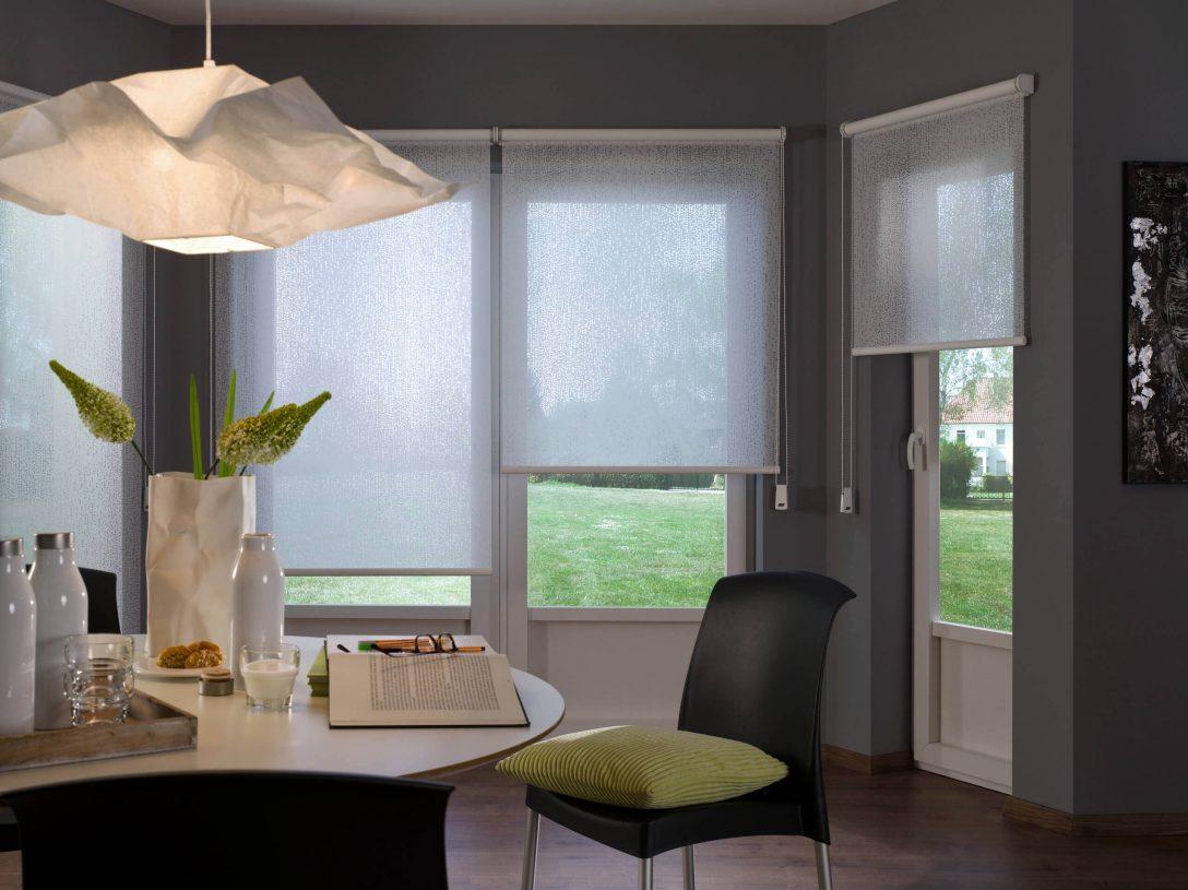 Large Size of Fenster Rollos Innenrollos Mit 5 Jahren Garantie Eingebauten Rolladen Jalousie Innen Einbruchschutz Stange Integriertem Rollladen 3 Fach Verglasung Rc 2 Velux Fenster Fenster Rollos