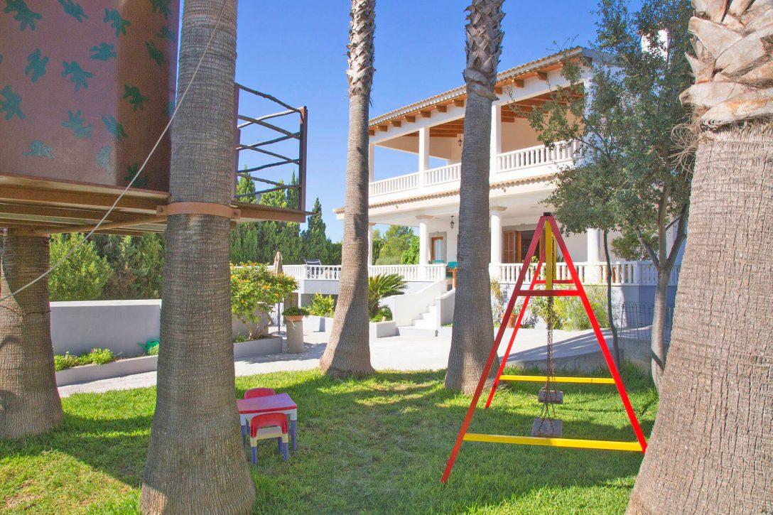 Large Size of Ferienhaus Mallorca Ma4114 Spielgerte Im Garten Loungemöbel Holz Holzhäuser Paravent Fenster Rolladen Nachträglich Einbauen Pavillion Bodengleiche Dusche Garten Spielgeräte Für Den Garten