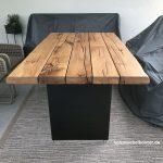 Garten Tisch Gartentisch Klappbar Wetterfest Rund Holz Kunststoff Migros Betonplatte 100 Cm Beton Ikea Metall Antik Betonoptik Ausziehbar Terrassentisch Nach Garten Garten Tisch