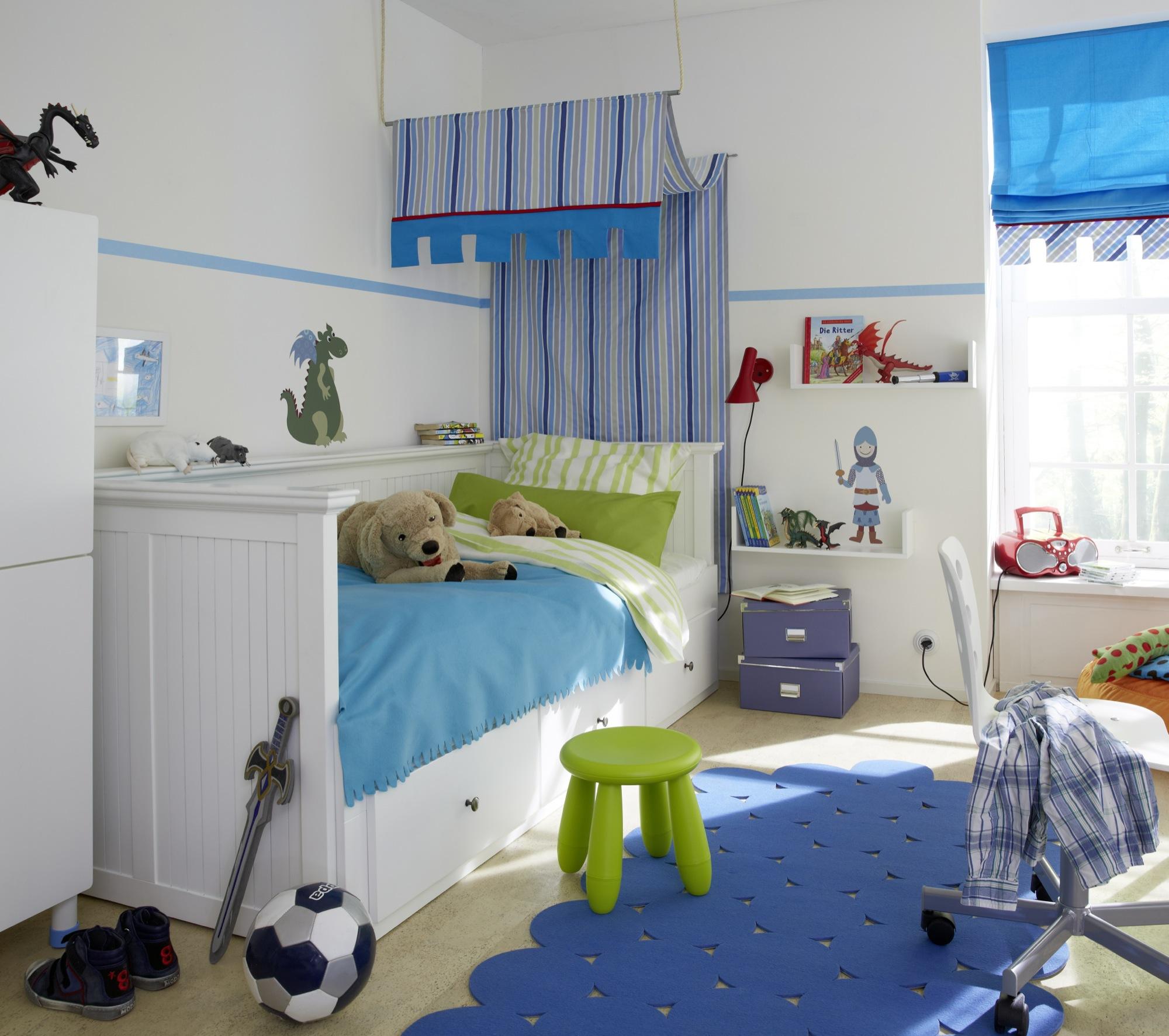 Full Size of Kinderzimmer Wird Zum Abenteuerland Diewohnbloggerde Regale Regal Weiß Raffrollo Küche Sofa Kinderzimmer Raffrollo Kinderzimmer