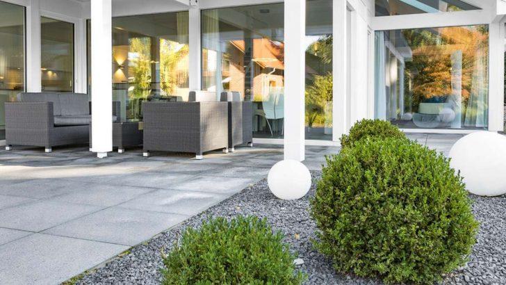 Medium Size of Kugelleuchte Garten Polyresin In Granit Optik 400mm Vertikaler Lounge Sofa Sitzbank Stapelstühle Tisch Spielgerät Liege Kräutergarten Küche Garten Kugelleuchte Garten