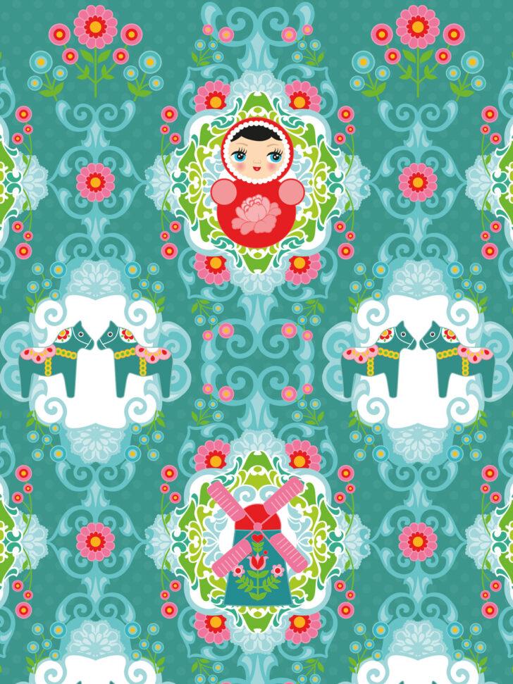 Medium Size of Kinderzimmer Tapete Matroschka Wohnzimmer Tapeten Ideen Regal Fototapeten Weiß Für Küche Regale Sofa Schlafzimmer Die Kinderzimmer Tapeten Kinderzimmer