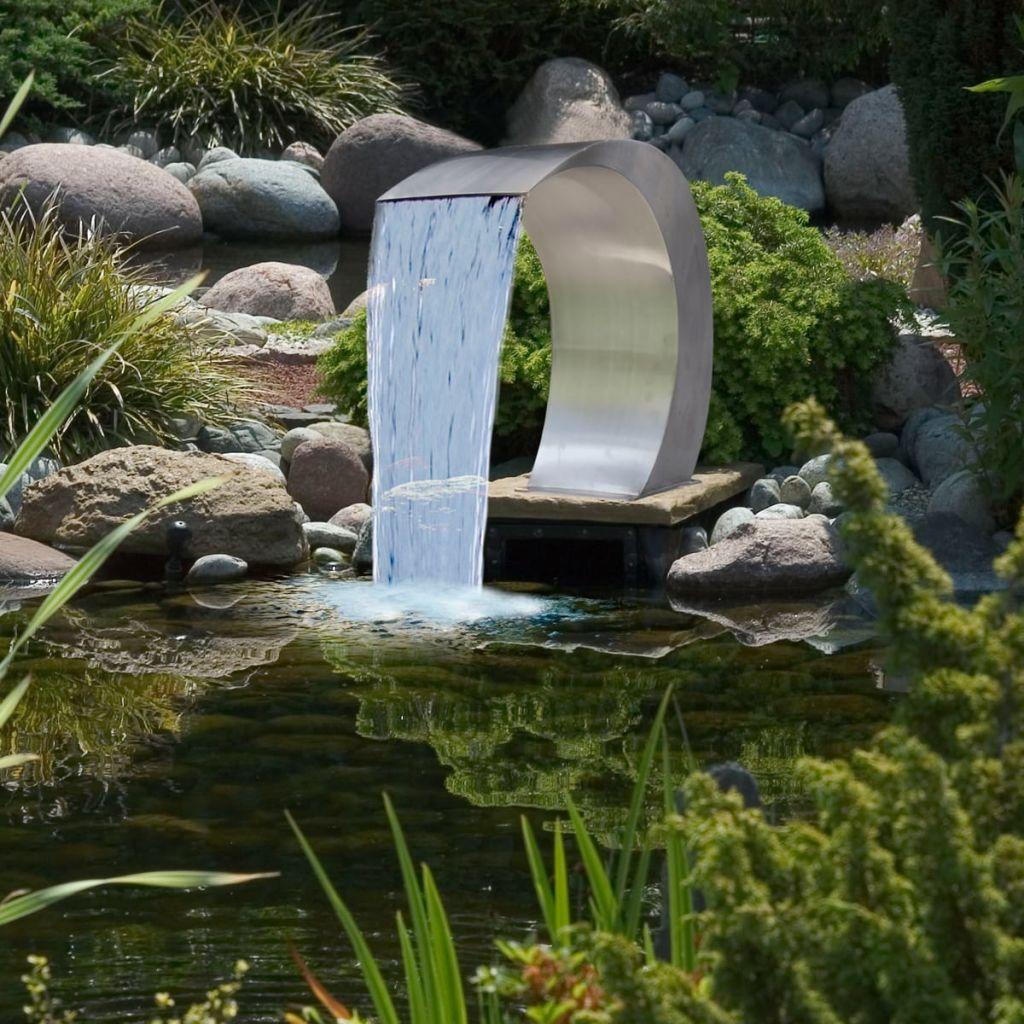 Full Size of Garten Wasserfall Brunnen Aus Edelstahl 450 300 600 Cm Gitoparts Sichtschutz Für Gaskamin Bewässerungssysteme Essgruppe Kinderschaukel Feuerschale Ecksofa Garten Wasserbrunnen Garten