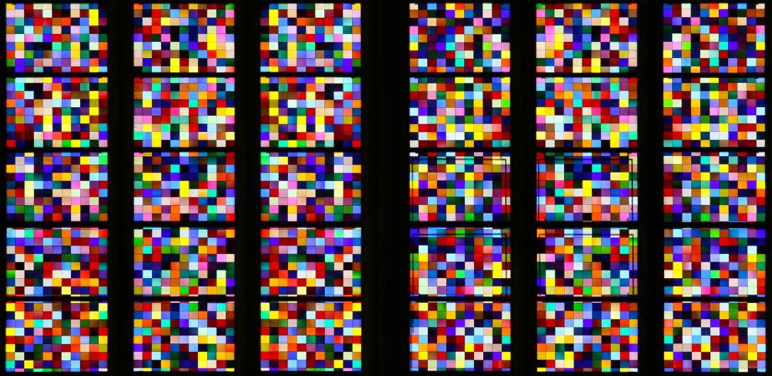 Large Size of Fenster Köln Von Gerhard Richter Im Klner Dom Ausschnitt Foto Bild Auf Maß Sichtschutzfolie Für Holz Alu Veka Polnische Rollos Ohne Bohren Insektenschutz Fenster Fenster Köln