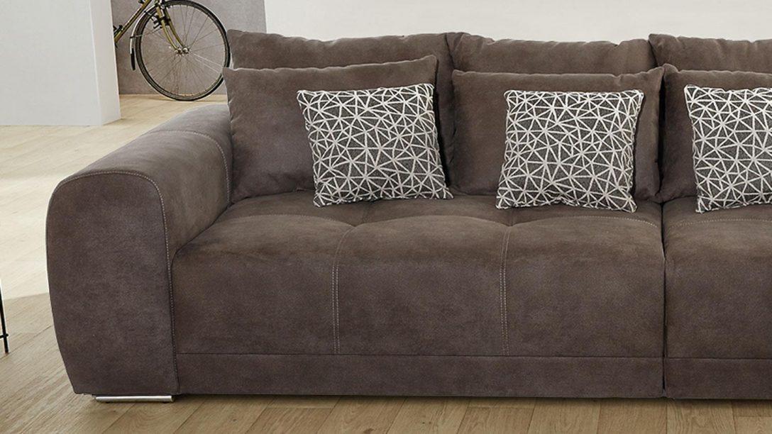 Large Size of Big Sofa Xxl Moldau Couch In Microfaser Braun Mit Kissen Ohne Lehne Mondo Günstig 2 5 Sitzer Eck Kaufen 2er München Rattan Kunstleder Weiß Chesterfield Sofa Big Sofa Xxl