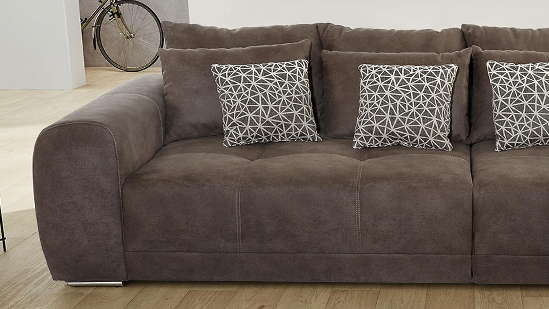 Full Size of Big Sofa Xxl Moldau Couch In Microfaser Braun Mit Kissen Ohne Lehne Mondo Günstig 2 5 Sitzer Eck Kaufen 2er München Rattan Kunstleder Weiß Chesterfield Sofa Big Sofa Xxl