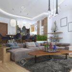 Sofa Für Esszimmer Studio Wohnung Mit Wohnzimmer Und In Einem Stil Esstisch Weißes Fliesen Dusche Kissen Chesterfield Günstig Angebote Sichtschutzfolien Sofa Sofa Für Esszimmer