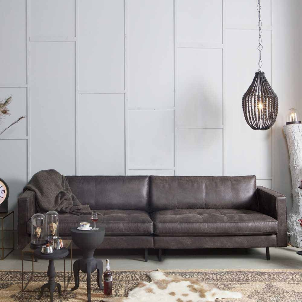 Full Size of 3 Sitzer Sofa Aus Recycling Leder Schwarz In 2020 Sitzhöhe 55 Cm Regal 40 Breit Mit Bettfunktion Abnehmbaren Bezug Englisches Terassen Lila Relaxfunktion Sofa Sofa Breit