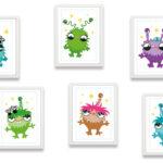 Bilder Kinderzimmer Kinderzimmer Bilder Kinderzimmer Poster Lustige Mars Monster Miyo Mori Moderne Fürs Wohnzimmer Regal Weiß Modern Regale Glasbilder Küche Sofa Wandbilder Xxl Bad