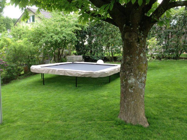 Trampolin Garten In Hanglage Trampoline Center Schweiz Spezialist Fr Pavillon Mini Pool Lounge Sessel Sichtschutz Im Sitzgruppe Kandelaber Brunnen überdachung Garten Trampolin Garten