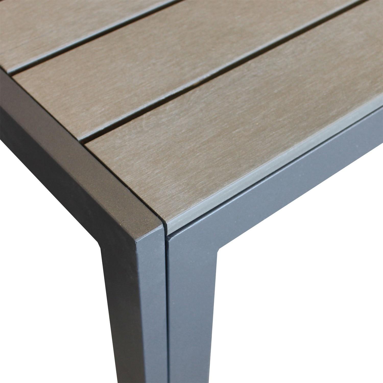 Full Size of Garten Tisch Gartentisch Klappbar Obi Set Ikea Rund Metall Antik Betonplatte Ausziehbar Beton Holz Diy Betonoptik Tchibo 120 Cm Wohaga Aluminium Polywood Garten Garten Tisch