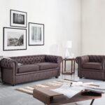 Sofa Leder Braun Sofa Sofa 3 Sitzer Leder Braun   Chesterfield Ikea Ledersofa Design Kaufen 3 2 1 Couch Gebraucht Vintage Rustikal Set Belianide Alternatives Innovation Berlin