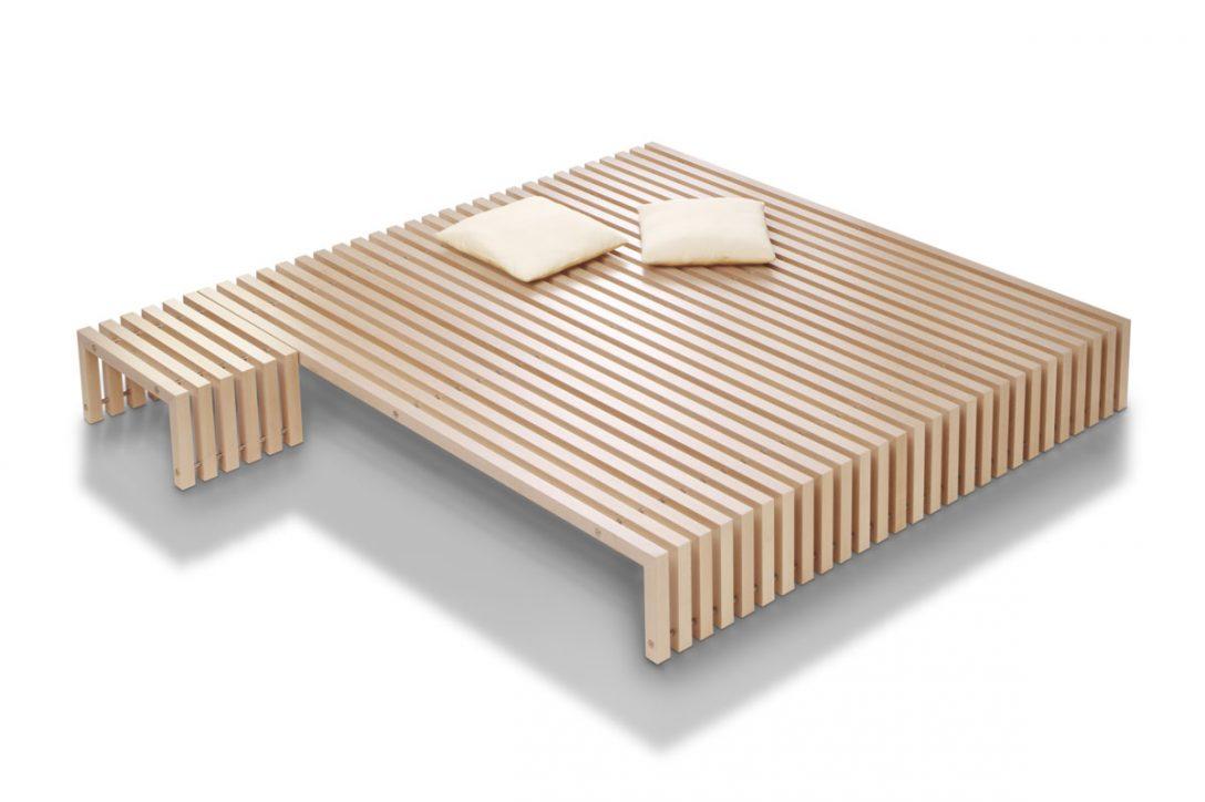 Large Size of Tatami Bett Designbett Dito In Vielen Holzarten Online Kaufen Edofutonde Kopfteil Selber Machen Ausziehbares Betten Landhausstil Boxspring Hohes Ruf Stapelbar Bett Tatami Bett