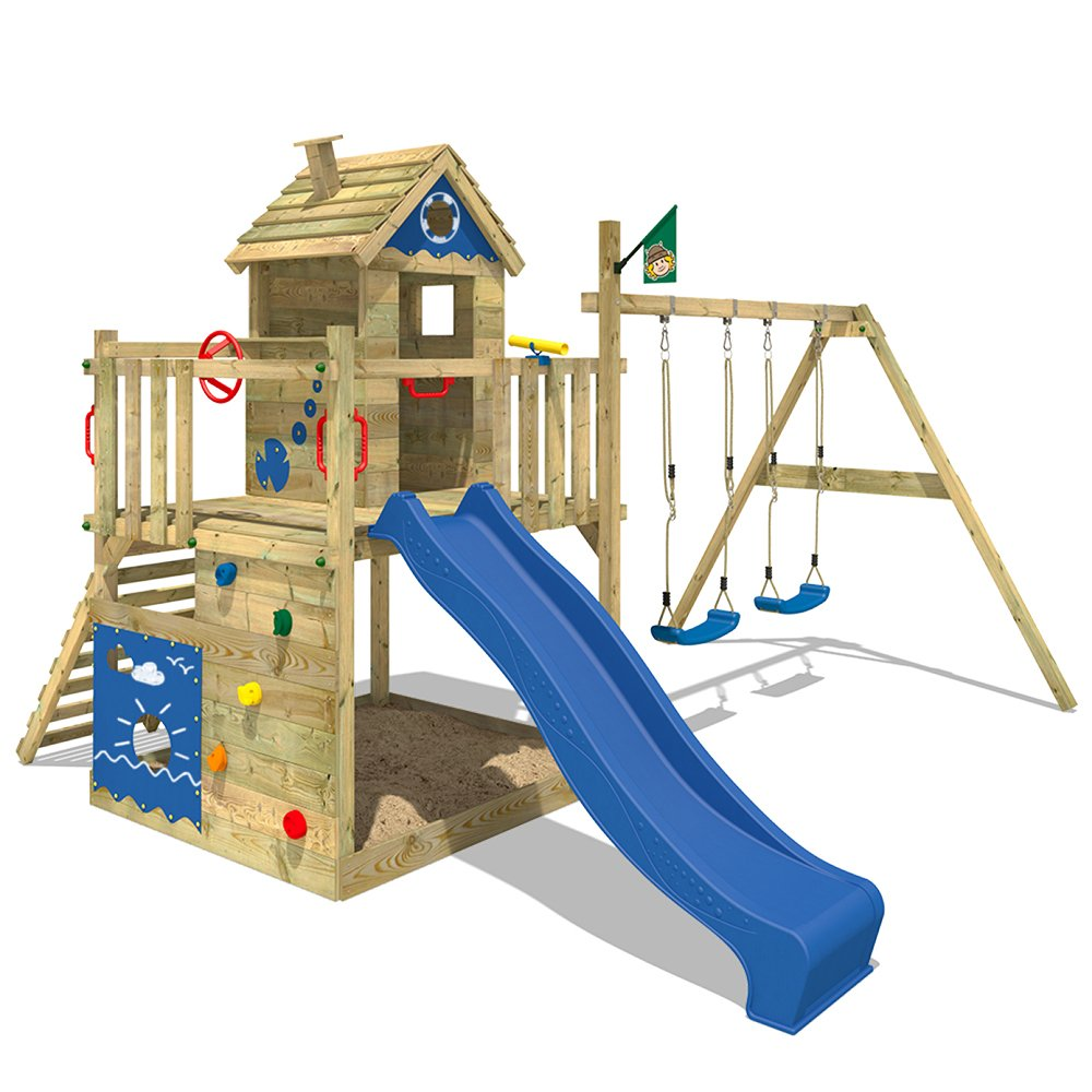 Full Size of Wickey Spielturm Smart Lodge Kletterturm Baumhaus Garten Mit Bewässerung Loungemöbel Günstig Relaxliege Schaukelstuhl Relaxsessel überdachung Spielgeräte Garten Kletterturm Garten