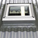 Flachdach Fenster Einbau Von Veluflachdachfenstern Am Welldach Türen Velux Kaufen Standardmaße Dänische Rolladen Nachträglich Einbauen Reinigen Fenster Flachdach Fenster