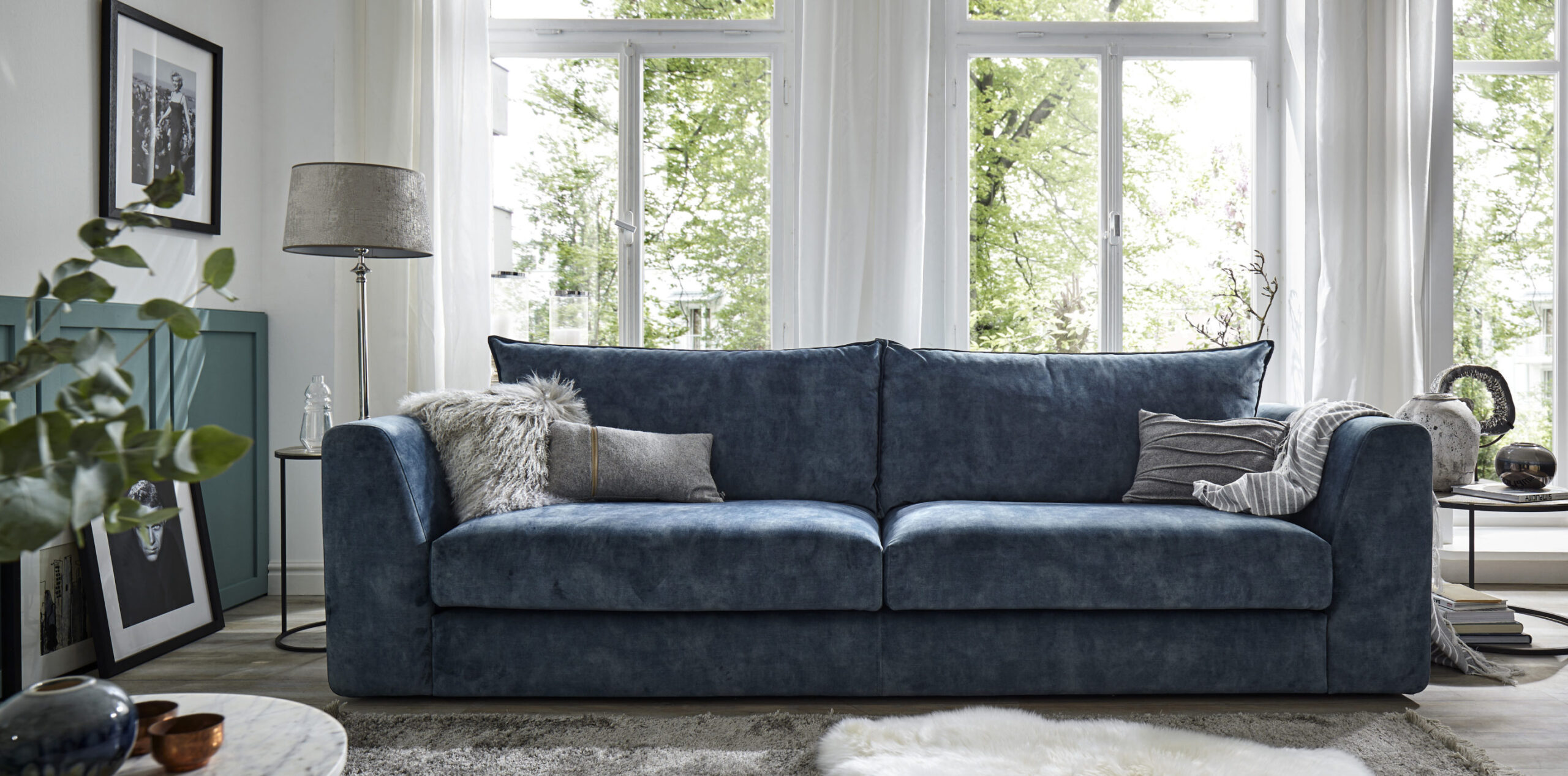 Full Size of Natura Sofa Couch Newport Brooklyn Kaufen Love Denver Kansas Livingston Gebraucht Home Pasadena 3 Sitzer Hampstead In Blau Natrlich Wohnen Wessing Tom Tailor Sofa Natura Sofa