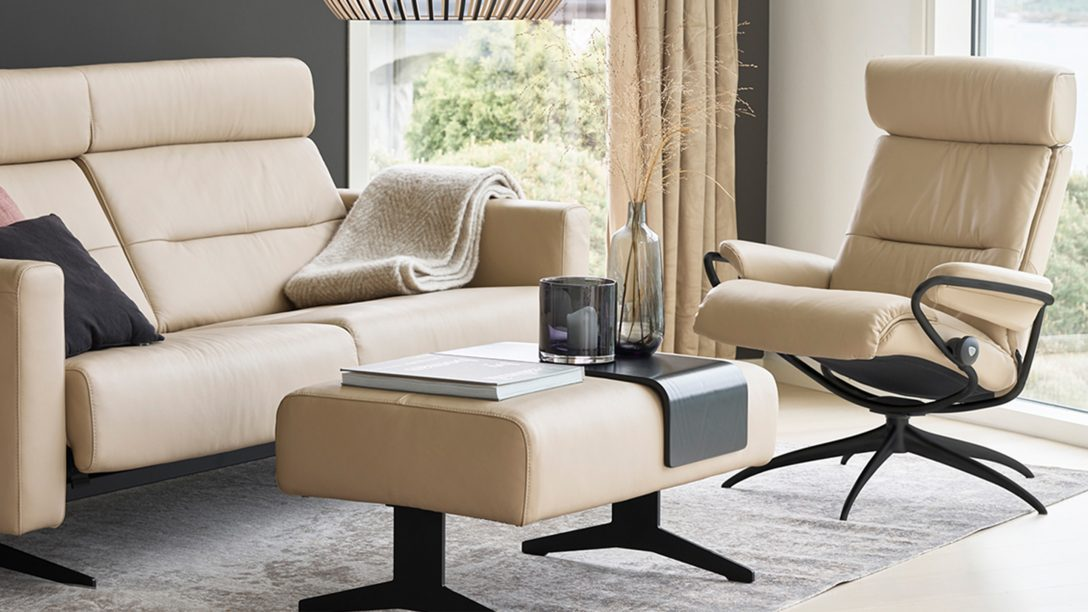 Large Size of Stressless Sofa Leather Couch Canada Ebay Kleinanzeigen Furniture Usa Nz Used Cost Luxus Entspannung Komfort Pur Bei Mbel Staude Chesterfield Grau Grünes L Sofa Stressless Sofa