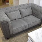 Chesterfield Sofa Grau Sofa Chesterfield Sofa Grau Stoff 2er Samt Set Leder Couch 2 Sitzer Otto Comfortmaster Mit Schlaffunktion Altes Heimkino Polyrattan Graues Regal Benz Weiß