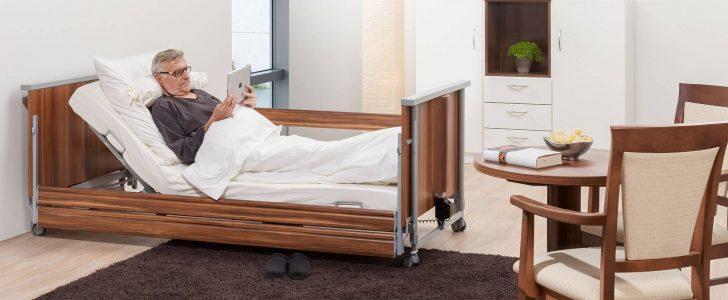 Medium Size of Niedrigbett Pflegebett Fr Zuhause Domifleniedrig Classic Bett Hoch Designer Betten Bettwäsche Sprüche Metall Bock Einfaches Schlafzimmer Set Mit Bett Bett Niedrig