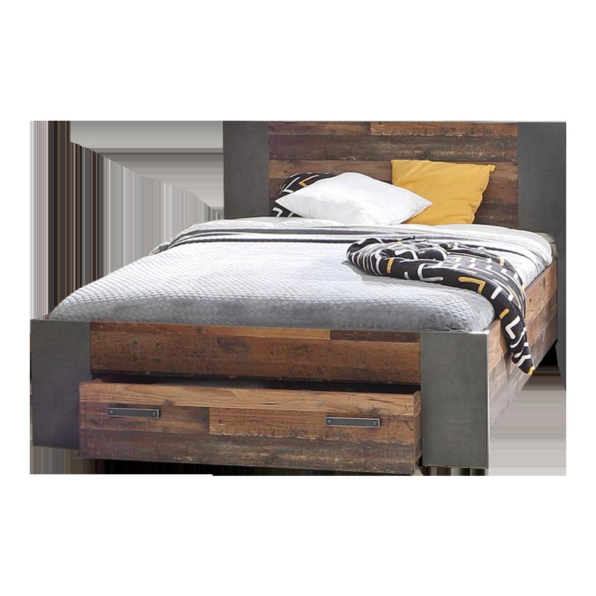 Full Size of Bett 140 X 200 Jugendbett In Old Wood Nachbildung Liegeflche Cm 1 40x2 00 180x200 Günstig Flexa Betten 140x200 Mit Matratze Und Lattenrost 200x200 Bettkasten Bett Bett 140 X 200