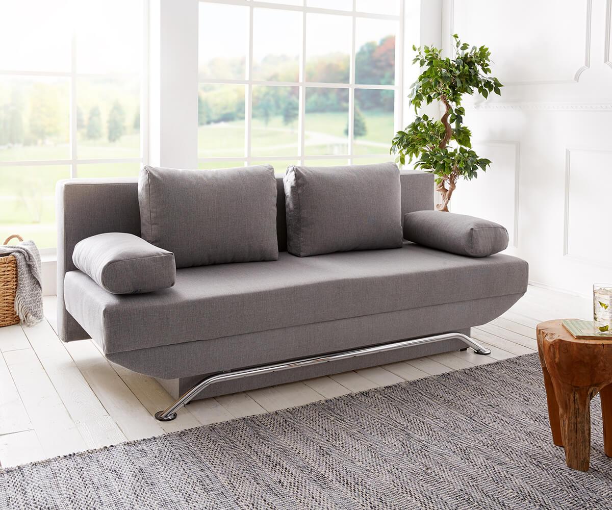 Full Size of Schlafsofa Cady 200x90 Cm Grau Couch Mit Schlaffunktion Mbel Küche Tresen Sofa Federkern Esszimmer Brühl Zweisitzer Stoff Holzfüßen Big L Form Xxl Geräten Sofa Sofa Mit Schlaffunktion