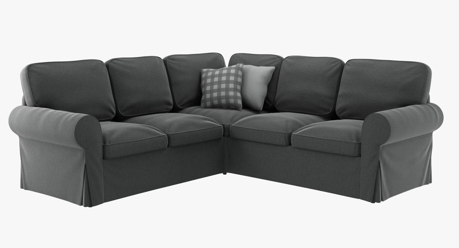 Full Size of Ektorp Sofa Review Uk Cover Amazon With Chaise Dimensions Ikea Canada Bed 3 Seat Ecksofa 3d Modell Turbosquid 1403433 Polsterreiniger Big Mit Schlaffunktion Sofa Ektorp Sofa