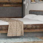 Bett Vintage Bett Bett Clif Binou Old Wood Beton Dunkelgrau 180x200 Rattan Außergewöhnliche Betten Boxspring Hohes Kopfteil Mit Bettkasten 160x200 Stauraum Rauch Box Spring