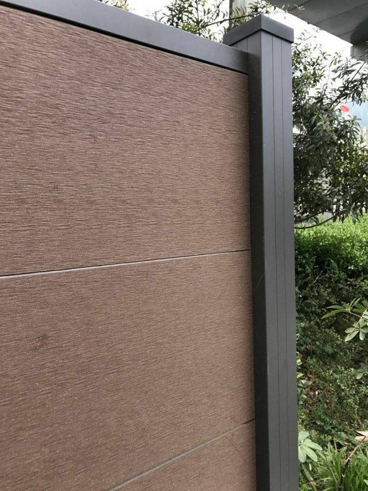 Medium Size of Wpc Alu Sichtschutz Zaun Gartenzaun Windschutz Terrasse Garten Sichtschutzfolie Fenster Einseitig Durchsichtig Aufbewahrungsbox Pavillon Mini Pool Garten Sichtschutz Garten Wpc