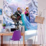 Tapeten Kinderzimmer Disney Elsa Frozen Forest Winter Land Fototapete Kindertapeten Regal Weiß Wohnzimmer Ideen Fototapeten Sofa Für Die Küche Regale Kinderzimmer Tapeten Kinderzimmer