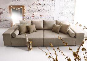 Big Sofa Braun