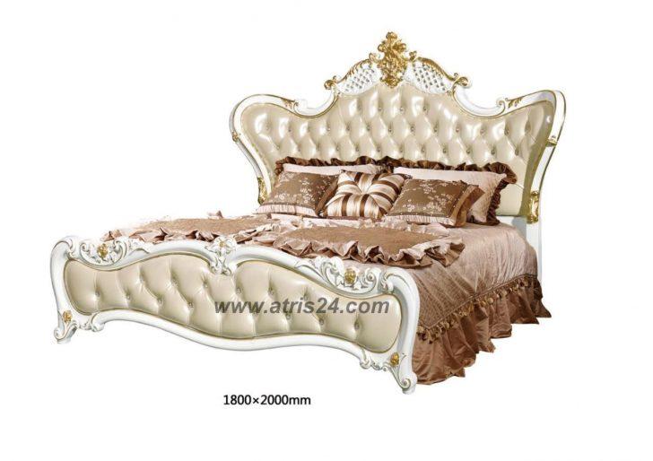 Medium Size of Schlafzimmer Komplett Set Barock Weiss Bett Schrank Atris 24 Mit Bettkasten Hoch Amazon Betten 180x200 Roba Coole 180x220 Außergewöhnliche Frankfurt Bett Bett Barock