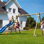 Spielanlage Garten Kinderspielanlage Arno Kinderspielgerte Bgu Baumarkt Schwimmingpool Für Den Versicherung Schaukelstuhl Relaxsessel Spielgerät Pool Im Garten Spielanlage Garten